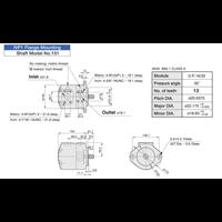 Jual ANSON IVP Series Single Pumps (pompa hidrolik) 2