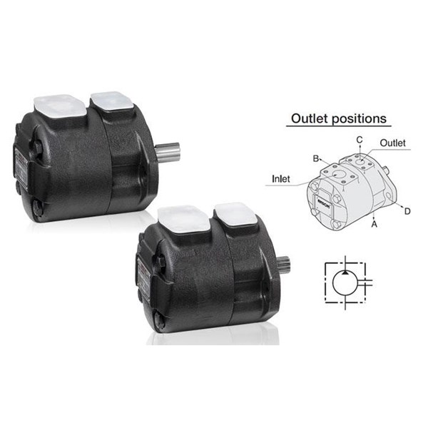 ANSON IVP Series Single Pumps (pompa hidrolik)