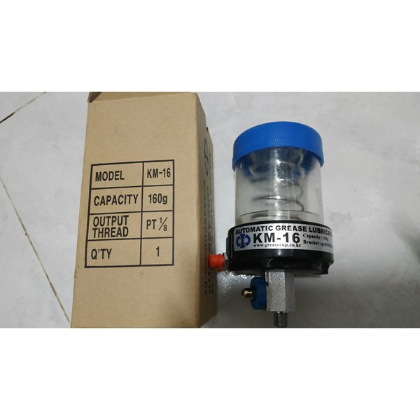 GREASECUP Automatic Grease Lubricator KM - 16 greasecup