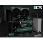 Condensing Unit HD Semihermetic 2-Stage 25 Hp 1