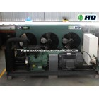 Condensing Unit HD 2-Stage Open Type 25 Hp 1