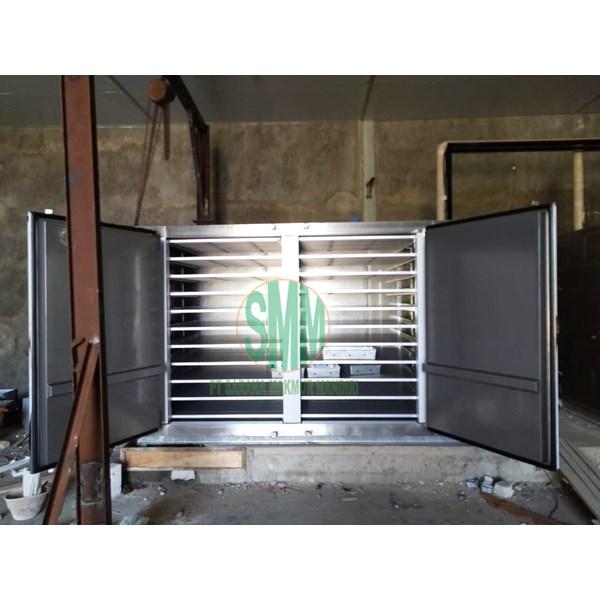 Semi Contact Plate Freezer Machine