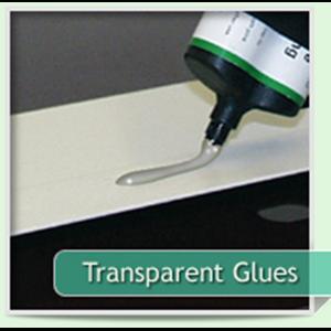 Transparent Glues