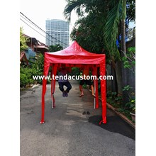 tenda lipat 2mx2m.