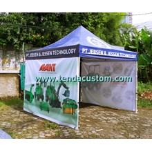 Tenda Lipat 3mx3m HX Jebsen