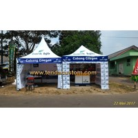 Tenda Promosi 3mx3m Bank BJB Cilegon