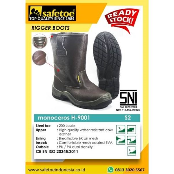Safetoe Monoceros Rubber H-9001