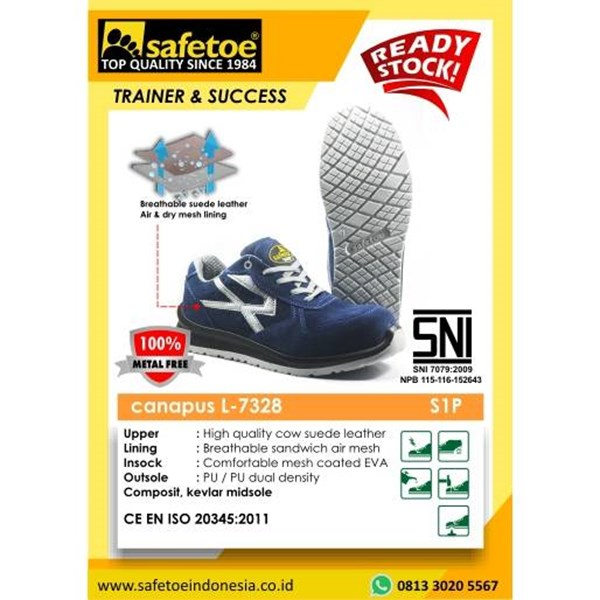 Canapus Safety Shoes L-7328