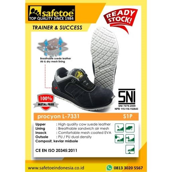 Procyon L-7331 Safety Shoes
