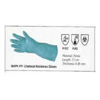 Jual MAPA 491 CHEMICAL RESISTANCE GLOVES