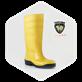 Sepatu Boot Safety Toyobo EN 12568