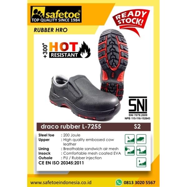 Sepatu Sefety Draco Rubber L-7255