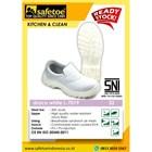 Sepatu  Safety Wanita Draco White L-7019 1