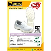 Draco White Women's Safety Shoes L-7019