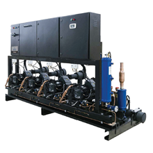 condensing unit emerson rack system