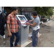 monitor kios stand