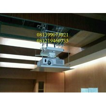 ceiling projector motorize