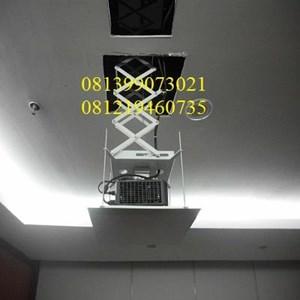 motorize projector bracket