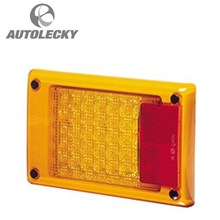 Lampu LED HELLA 2138  LIGHT STOP-TAIL LED 9W 9-33V YLW RED.AMBER