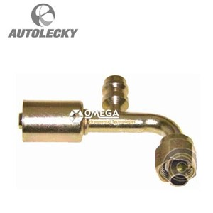Aksesoris Mobil ASHDOWN INGRAM 35-S1322 ELBOW HOSE 90DEG BEADLOCK F O-RING #8-#8 STL