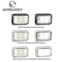 LAMPU LED LED AUTOLAMPS 32-35WM LIGHT MARKER LED FRONT IND 12-24V BLK CLR 1