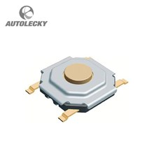 Aksesoris Mobil RS COMPONENTS 336-7508 SWITCH PUSH TACTILE 0.05A 12V SPST-NO 1.57 N (Alps)