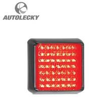 Lampu LED PJL (LED AUTOLAMPS) 32-100RM LIGHT STOP-TAIL 12 24V BLK RED
