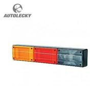 The Stop LED Lights LED lights 3 Combination Vertical 9-33V Hella 2SK 959 040-541 1
