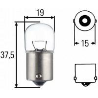 Jual Lampu Bohlam HELLA 8GA 002 071-251 LAMP INCAND BAYONET 24V 10W 0.5A BA15S