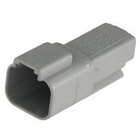 Aksesoris Mobil DEUTSCH 18-DT04-2P CONNECTOR RCPTL DT04 13A 2-WAY M GRAY