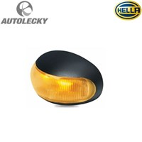 HELLA 2026 LED LIGHT MARKER LED SIDE LAMPU SAMPING TRUK TRAILER ALAT BERAT HEAVY DUTY YELLOW AMBER ORIGINAL 12-24V