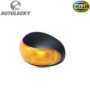 From HELLA 2026 LED LIGHT MARKER LED SIDE LAMPU SAMPING TRUK TRAILER ALAT BERAT HEAVY DUTY YELLOW AMBER ORIGINAL 12-24V 0