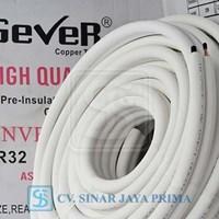 Jual Pipa AC Gever 1/4 + 5/8 panjang 30 meter