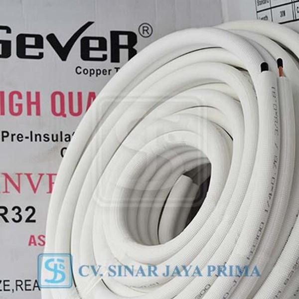Pipa AC Gever 1/4 + 5/8 panjang 30 meter