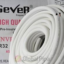 Pipa AC Gever 3/8 + 3/4 panjang 30 meter