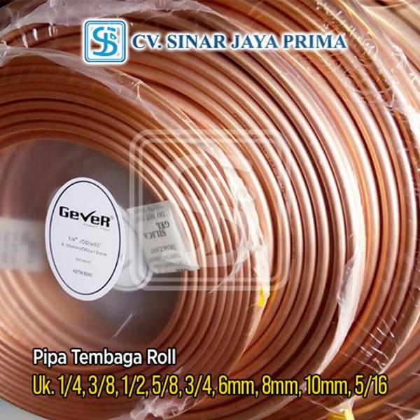 Pipa Tembaga Roll 3/16 Inch 15 meter