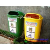Jual Tempat Sampah Fiberglass 2