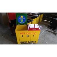 Jual Tempat Sampah Tong Sampah Fiberglass 2