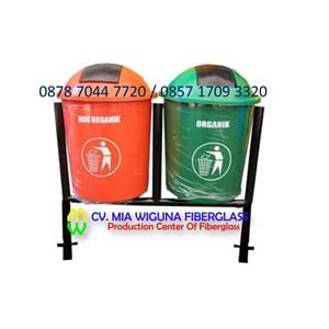 Pabrik Tempat Sampah Bulat Organik Dan Non Organik