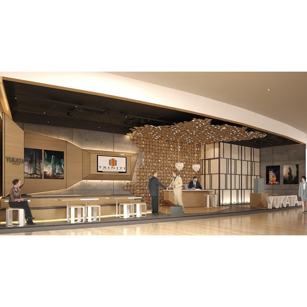office interior designs. Yukata Marketing Office By PT Astika Graha Indonesia Interior Designs