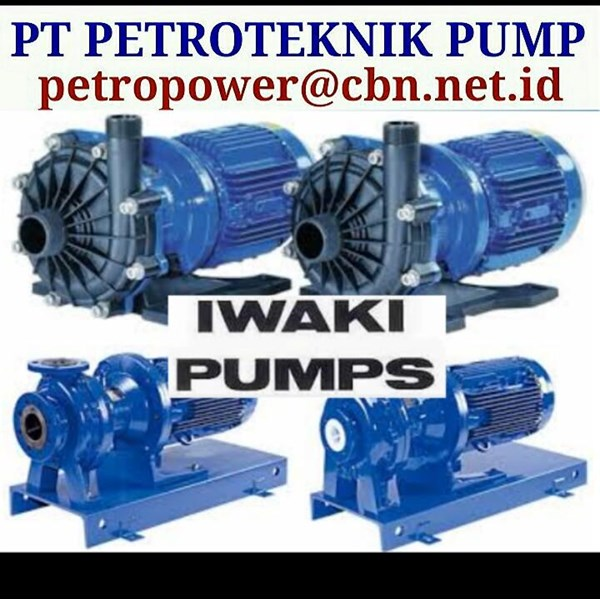 IWAKI PNEUMATIC DRIVE PUMPS PT PETROTEKNIK PUMP