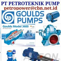 GOULDS ITT PUMP CENTRIFUGAL PT PETRO PUMP GOULDS ITT PUMPS