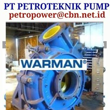 WARMAN CENTRIFUGAL SLURRY PUMP PT PETRO PUMPS