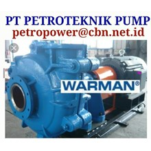 PT PETRO WARMAN CENTRIFUGAL SLURRY PUMP  WEIR