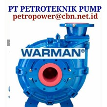 PT PETRO WARMAN CENTRIFUGAL SLURRY PUMP  WEIR PUMP
