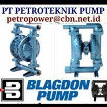 PT PETRO PUMP BLAGDON PUMP DIAPHRAGM AIR OPERATED DOUBLE PUMP