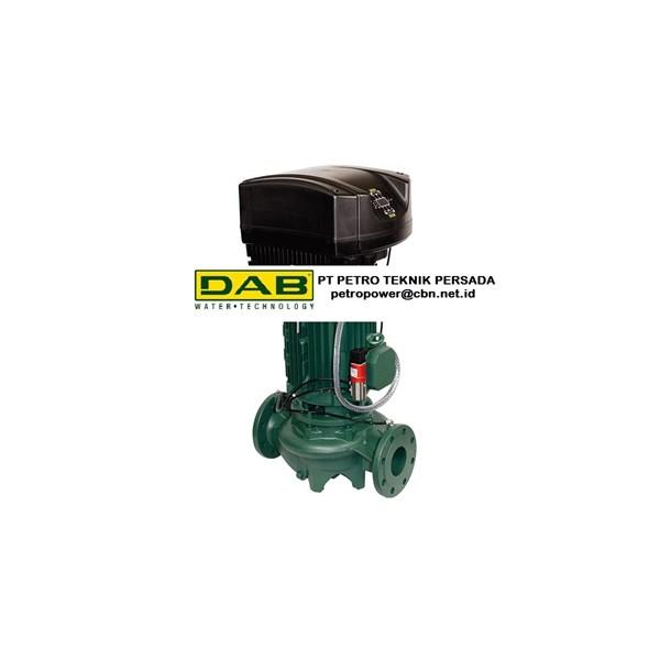 DAB ELECTRONIC IN LINE PUMPS CME-CM-GE-DCME-DCM-GE  PT PETRO TEKNIK PERSADA