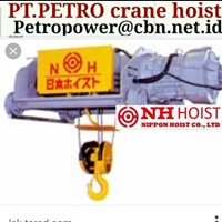 NIPPON NH PT PETRO POWER CRANE HOIST NIPPON