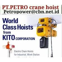 KITO PT PETRO CRANE HOIST KITO