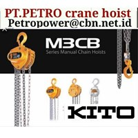 CRANE HOIST KITO PT PETRO CRANE HOIST KITO